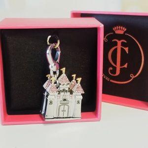 NIB Juicy Couture Rare Pave Princess Castle Charm